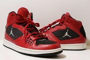 Rare Nike Red Black 372704 Men's 1 Gym White 602 Air 2012 Jordan Flight About 12 Size Details RjAqL453