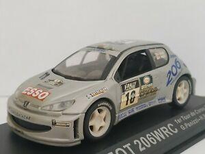 1-43-PEUGEOT-206-WRC-2000-PANIZZI-RALLYE-RALLY-COCHE-METAL-IXO-ESCALA-DIECAST
