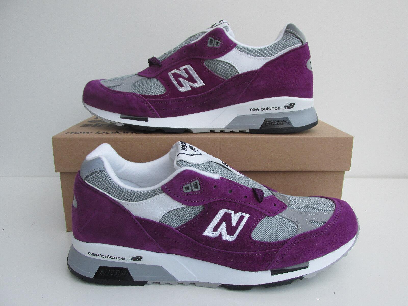 Nuevo Y En Caja New Balance 991.5 CC UK 11 Púrpura   9915 991 1500 unidad de suela superior