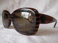 Versace Sunglasses Ve4317a 518773 Brown Rule Black 54-18-140 & Authentic
