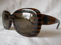 Versace Sunglasses Ve4317a 518773 Brown Rule Black 54-18-140 & Authentic