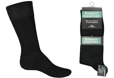 3 6 oder 12 Paar Herren Socken  Bambus  Gesundheitssocken  Diabetiker