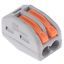 thumbnail 13 - 2/3/4/5/8 Way Reusable Spring Lever Terminal Block Electric Cable Wire Connector