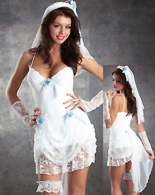 Madonna Virgin bride 80s Vêtements fantaisie robe tenue costume party poules