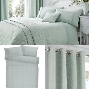 Blue-Duvet-Covers-Duck-Egg-Jacquard-Floral-Woven-Quilt-Cover-Luxury-Bedding-Sets