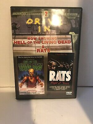 Hell of the Living Dead / Rats: Night of Terror (DVD, 2003