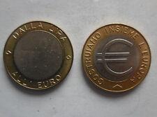 moneta da 1 euro cambio lira-euro conio Zecca