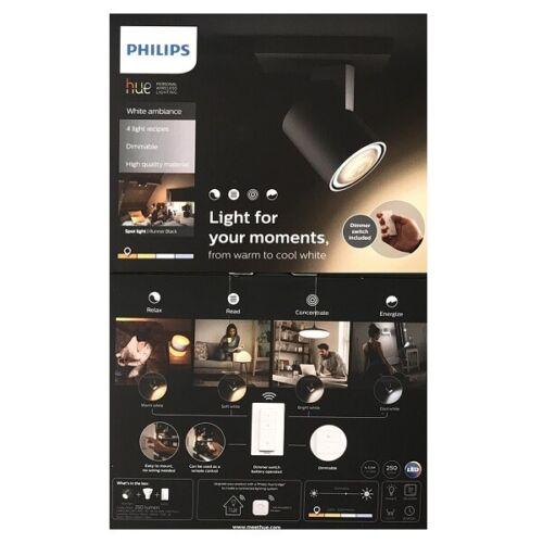 Philips Hue White Ambiance Runner Spot Erweiterung schwarz