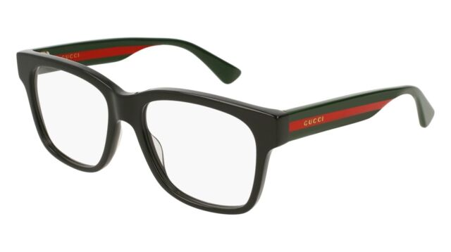 NEW Gucci Sensual Romantic GG 0342O Eyeglasses 004 Black 100% AUTHENTIC