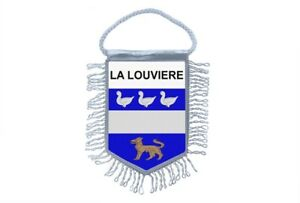 Mini-banner-flag-pennant-window-mirror-cars-country-banner-la-louviere-belgium