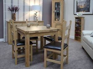 Image Is Loading Rio Solid Oak Furniture Small Extending Dining Table