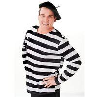 Mens Ladies Adult Fancy Dress Costume FRENCH BERET BLACK HAT
