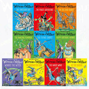 Winnie-and-Wilbur-Series-10-Books-Collection-Set-Series-1-by-The-Amazing-Pumpkin
