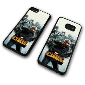 promo code 72fa1 6fb95 Details about Luke Cage Unbreakable Hero Harlem City Marvel Mike Colter  Phone Case Cover