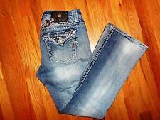 Women's Miss Me Jeans Size 29 BKE Buckle Easy Boot Cut 29/30 JE5758E2R Designer!