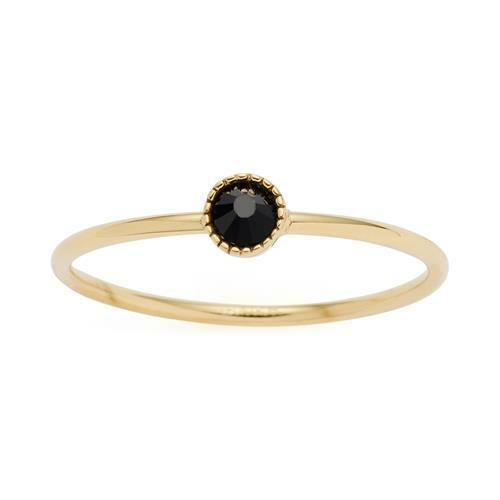 Ring Lola Ciao für Damen von Leonardo aus Edelstahl gold
