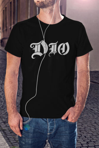 RONNIE JAMES DIO Man Black T-shirt Rock Band Tee Haven /& Hell Shirt Black Sabath