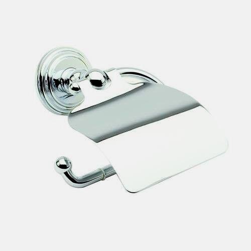 Ginger 1127 PB Hooded Toilet Tissue Holder Polished Brass