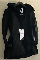 Lululemon Run For Cold Pullover Primaloft Water Protection Glyde Black 10