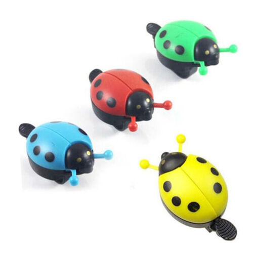 Cute Ladybug Horn New Sound Bicycle Handlebar Cycling Alarm Bell Ring