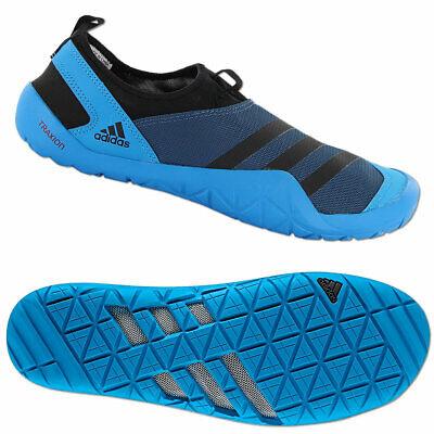 adidas Herren Wassersportschuhe JAWPAW Slip On blau schwarz