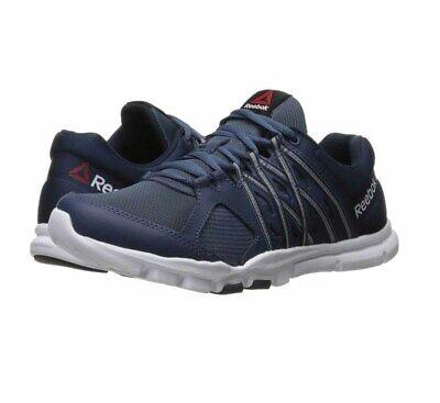 Reebok Nano 9 EG0600 Mens Blue Nylon Athletic Lace Up Cross Training Shoes