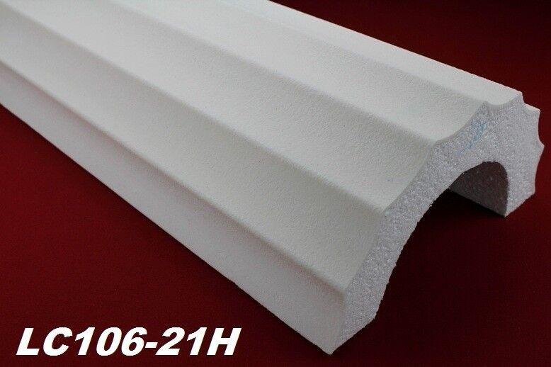 2 Meter Halbsäule kanneliert Körper Halbsäulenkörper stoßfest Ø405mm, LC106-21H