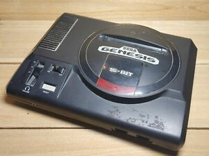 Sega Genesis 16 Bit Video Game Console Only Model 1601 Tested
