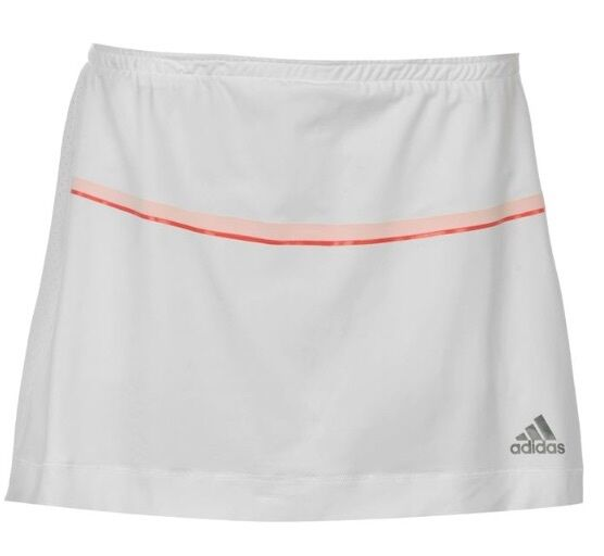 Adidas Barricade Skort Ladies Tennis Skirt Pants White Red Size XL with tag