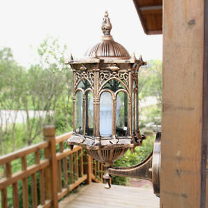Lantern-Sconce-Porch-Light-Lamp-Antique-Wall-Lighting-Outdoor-Exterior-Fixture