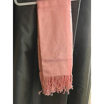 Pink Breast Cancer Support Scarf