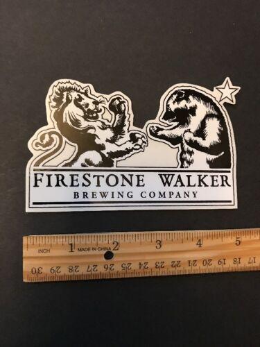 FIRESTONE WALKER BREWING Co Beer Skateboard STICKER Decal Craft Brewery