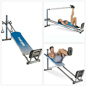 BLUE-Total-Gym-Optima-Full-Body-Workout-Home-Fitness-Folding-Exercise-Machine