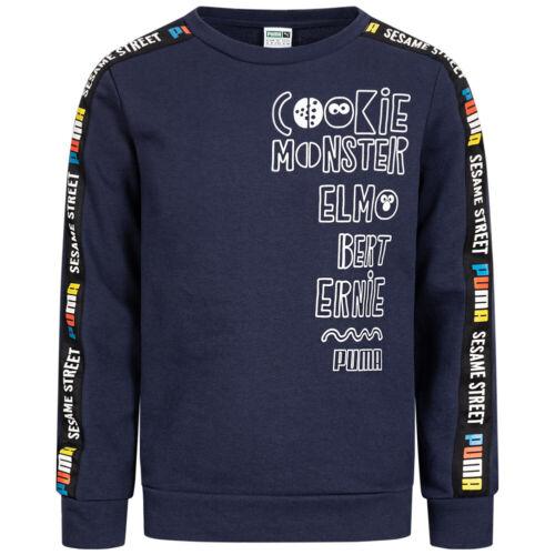 PUMA Sesamstraße Mädchen Langarm Shirt Freizeit Sweatshirt 843759 843758 neu