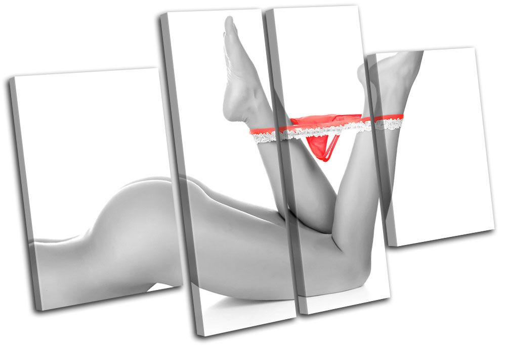Thong Legs NUDES Erossoic MULTI TELA parete arte foto stampa stampa stampa c68916