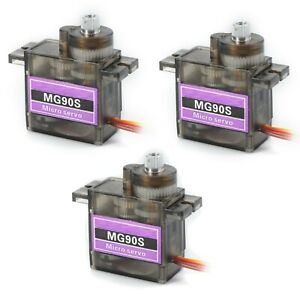 3-Pack-MG90S-Metal-Gear-Micro-Servo-for-Boat-Car-Plane-RC-Helicopter-Arduino-etc