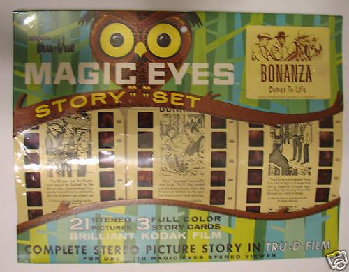 MAGIC EYES Story Set BONANZA 1964 MIP