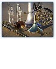 5 Jazz, Showtunes, etc. for Brass Quintet (Sheet music your choice from list)