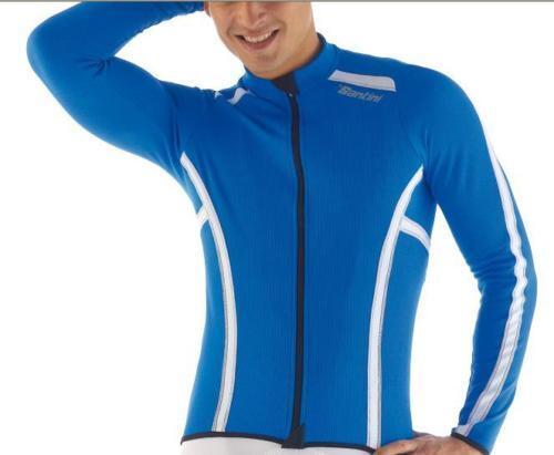 Lange Ärmel winterlich blaue Farbe Größe XL