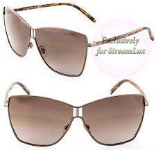 20ce649411 GUCCI GG 4207 S Butterfly Sunglasses GG 1004 S D28QG Gunmetal Havana Brown