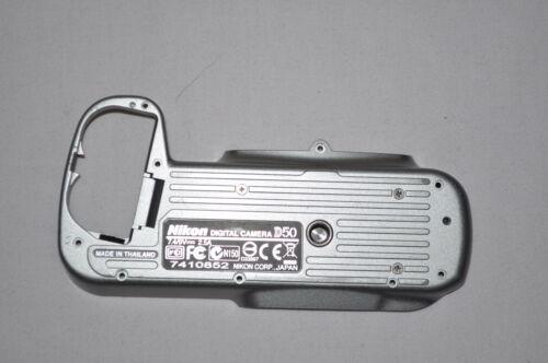 Cubierta Inferior-Pieza de reparación-Digital Slr-Plata Original Nikon D50 Placa Base