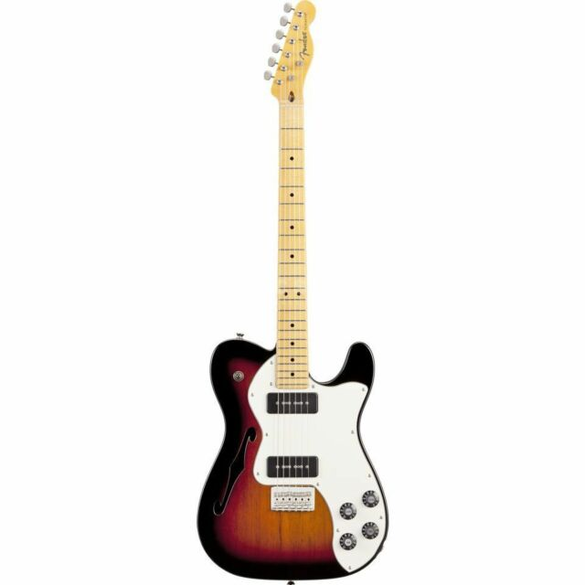 Fender Fender - Modern Player Telecaster Thinline Deluxe MN 3-Color Sunburst