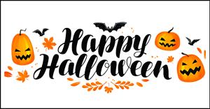 48 Happy Halloween Autocollants Étiquettes Sac Fête Sweet Cône merci