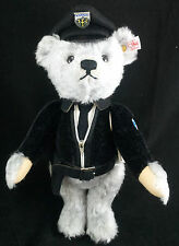 STEIFF Limited Edition Isar Teddy Bear EAN 673825 30cm + Box German policeman BN