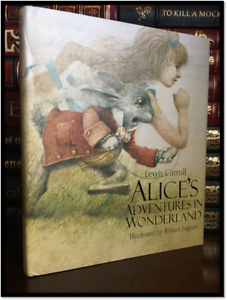 Antyki i Sztuka Alice's Adventures Under Ground by Carroll New Illustrated Hardcover Wonderland