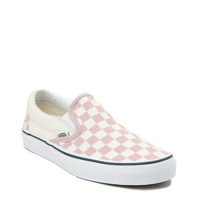 Vans Checkerboard Slip-On Zephyr Pink