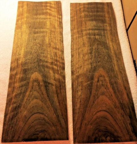 "++ Mozambique Veneer – Rare and Exotic figured ""AAA"" 7"" x 24"" 9 pcs. avail. Raw"