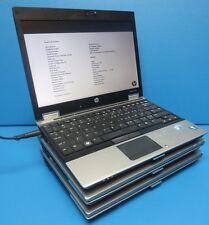 "Lot of 3 HP EliteBook 2540p-12.1"" Laptop-i5 540M@2.53GHz-4GB-160GB HDD!"