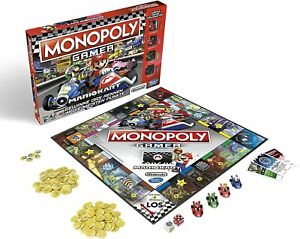 Monopoly Mario Kart - Gamer Edition - Hasbro E1870