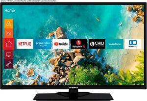 "32"" FULL HD LED-Fernseher 81 cm Triple Tuner Smart-TV WLAN Netflix Amazon Prime"